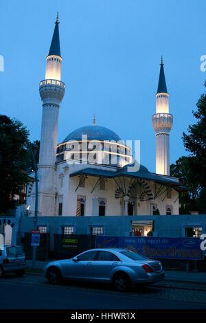 Sehitlik-Moschee, Berlin-Tempelhof. Banque D'Images