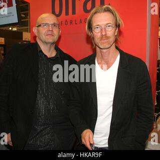 Roslund et Hellström auteur du crime Banque D'Images