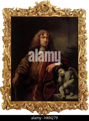 Ferdinand Bol - Autoportrait - WGA2366 Banque D'Images