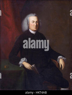 Le Dr Thomas Cadwalader, par Charles Willson Peale (1741 - 1827) Banque D'Images