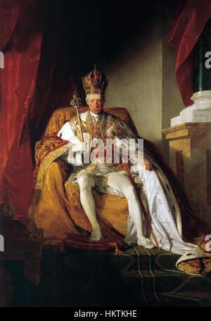 François II, Saint Empereur Romain par Friedrich von Amerling 003 Banque D'Images