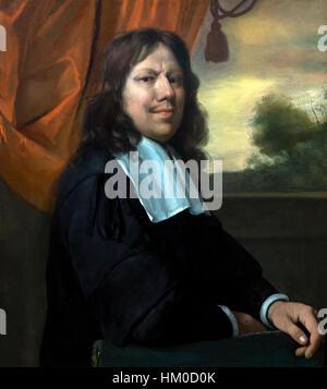 Self Portrait par Jan Steen, vers 1670, huile sur toile, Rijksmuseum, Amsterdam, Pays-Bas, Europe, Banque D'Images