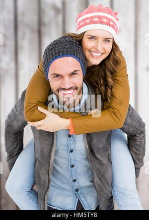 Hiver studio jeune homme femme couple 25 30 Gants Gant écharpe pulls ... 3b633f3ab3b