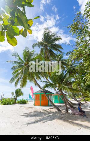 Worthing Beach, Christ Church, Barbade, Antilles, Caraïbes, Amérique Centrale