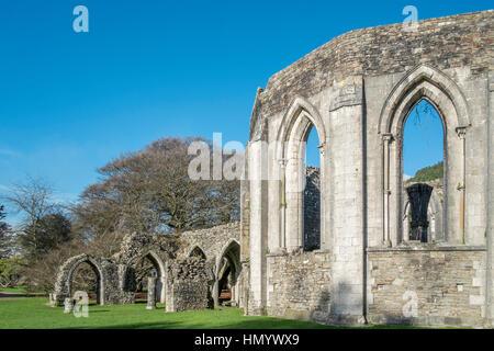 Une partie de l'abbaye de Margam Park Estate,.