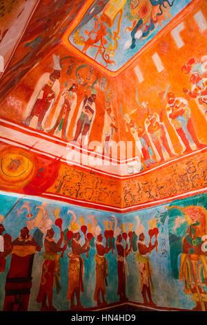 Le Musée National d'anthropologie (Espagnol: Museo Nacional de Antropología, MNA) est un musée national du Mexique. Banque D'Images
