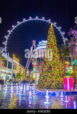Le High Roller à la Linq, un coin repas et de commerces au centre du Strip de Las Vegas sur , le High Roller est Banque D'Images