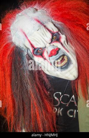 Participant à l'assemblée annuelle de la parade d'Halloween de Las Vegas à Las Vegas , Nevada Banque D'Images