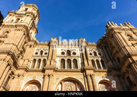 La Cathédrale de l'Incarnation (Catedral de la Encarnation), Malaga, Andalousie, espagne.
