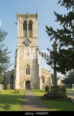 L'église St Mary, Sprotbrough, Doncaster, South Yorkshire, Angleterre, Royaume-Uni