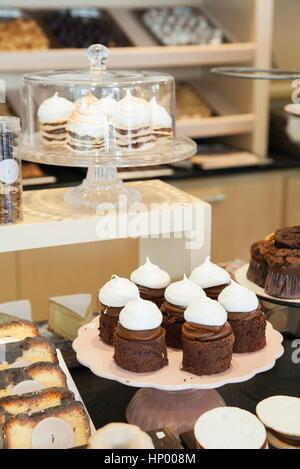 Desserts en boulangerie Banque D'Images