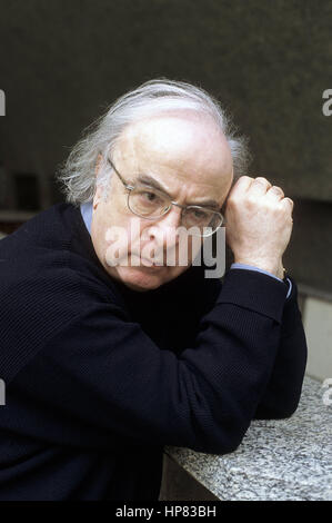 Norman Manea - Date: 20040401 ©Basso Cannarsa/Opale Banque D'Images