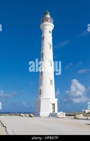 Phare California, Noord, Aruba Banque D'Images