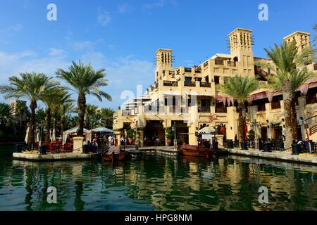 Emirats Arabes Unis, Dubaï, une boutique dans le Madinat Jumeirah resort Banque D'Images