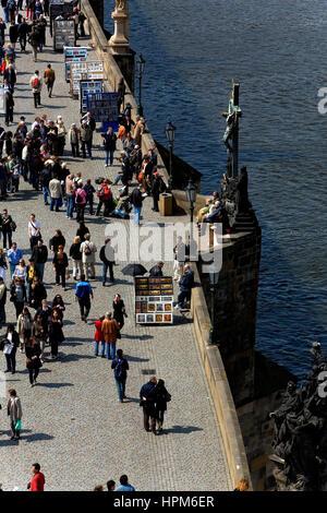 Le pont Charles.Prague. République tchèque