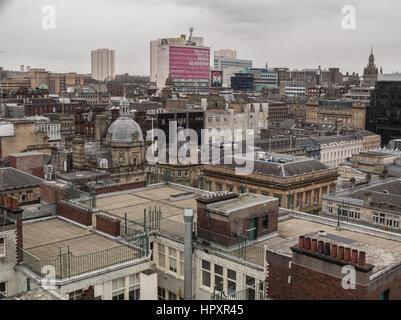 Skyline de Glasgow Banque D'Images