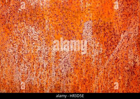 Rusty metal texture, peut être utilisé comme arrière-plan Banque D'Images