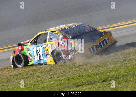 Daytona Beach, Floride, USA. Feb 26, 2017. 26 février 2017 - Daytona Beach, Floride, USA : .Dale Earnhardt Jr. (88), Banque D'Images