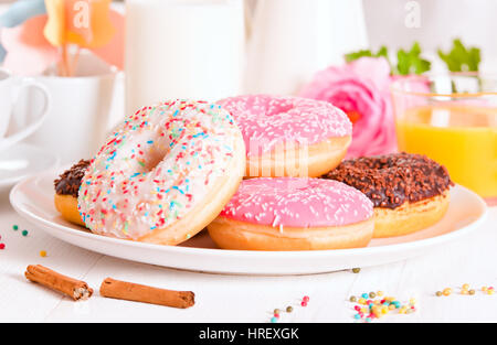 American donuts. Banque D'Images