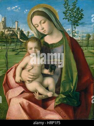 Vierge à l'enfant Banque D'Images
