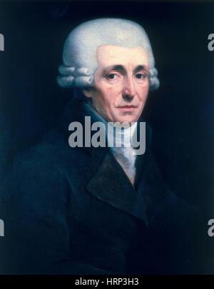 Franz Joseph Haydn, compositeur autrichien Banque D'Images