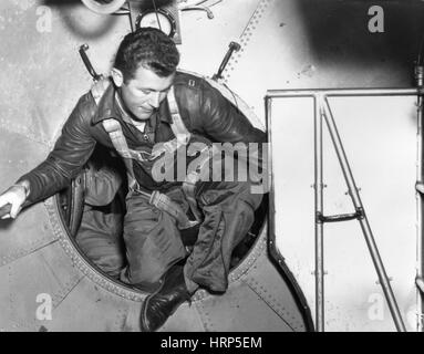 Chuck Yeager Bell X-1 d'embarquement, 1947 Banque D'Images