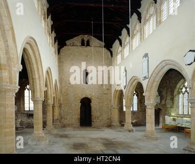 L'église Saint Pierre, Barton-upon-Humber, Lincolnshire du Nord, c2000s(?). Historique: L'artiste photographe personnel de l'Angleterre.