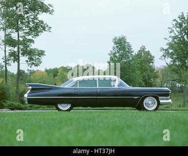 1959 Cadillac 1960. Artiste: Inconnu. Banque D'Images