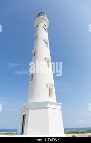 Le phare de la Californie, près de Manchebo Beach, Aruba Banque D'Images