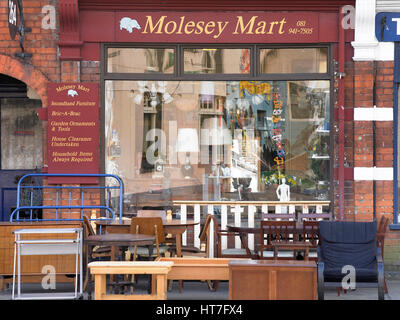 Molesey Mart, boutique, UK Banque D'Images