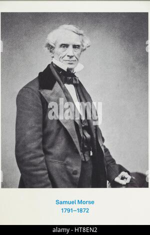 Portrait de Samuel Morse 1791-1872 Banque D'Images