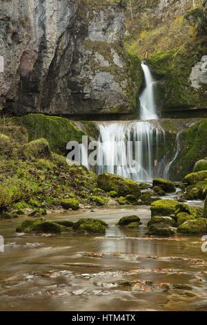 Cascade de la Billaude, Franche-Comté, France