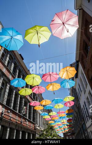L'installation du projet Sky à Tournai, Belgique