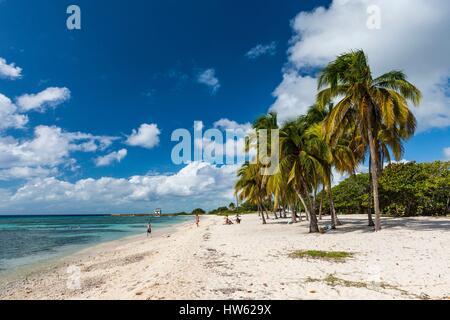 Cuba, province de Matanzas, la péninsule de Zapata, Baie des Cochons, Playa Giron Banque D'Images