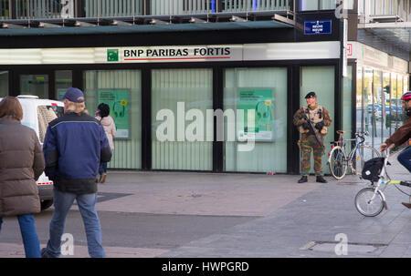 Soldat belge Banque D'Images