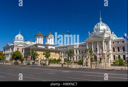 L'Hôpital Coltea à Bucarest - Roumanie Banque D'Images