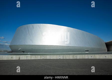 Aquarium du Danemark, également connu sous le nom de la planète bleue (Den Blå Planet) et a ouvert ses portes à l'extérieur de Copenhague Kastrup en 2013. Le top-moderne buildi