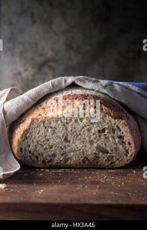 Composé de farine de pain de pain Banque D'Images