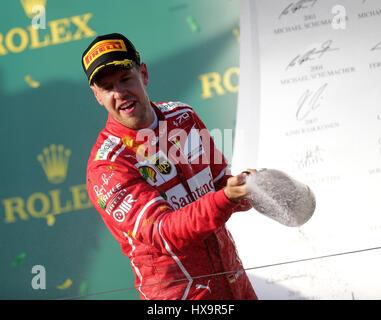 Melbourne, Australie. Mar 26, 2017. Rolex de Formule 1 Grand Prix d'Australie, 23. - 26.03.2017 Crédit: Cronos/Alamy Banque D'Images