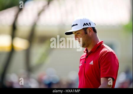Austin, Texas, États-Unis. 26 mars 2017. Jon Rahm en action au World Golf Championships Technologies Dell Championship Banque D'Images