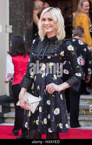 Londres, Royaume-Uni. 15 mars 2017. Jenni Falconer assiste à la Prince's Trust de célébrer la réussite des prix au London Palladium.