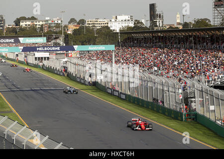 Melbourne, Australie. Mar 26, 2017. Sport Automobile: Championnat du Monde de Formule 1 de la FIA 2017, Grand Prix Banque D'Images