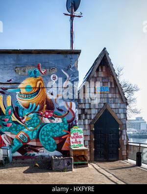 Art Vintage Mur De Plage