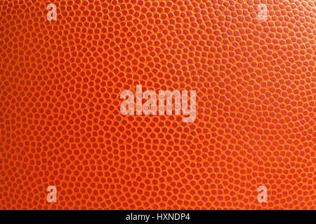 La texture de basket-ball shot close up