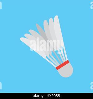 Badminton sport design Banque D'Images