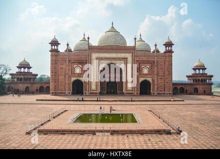 Mehman Khana, Taj Mahal, Inde Banque D'Images