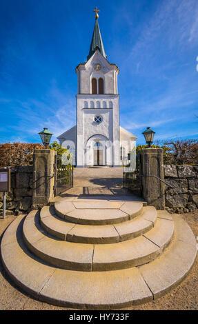 Église Kyrkhult est le principal lieu de culte pour la congrégation Kyrkhult et est situé dans le centre de Kyrkhult Banque D'Images