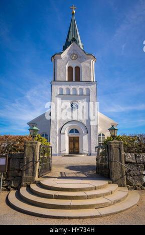 Église Kyrkhult est le principal lieu de culte pour la congrégation Kyrkhult et est situé dans le centre de ville Banque D'Images