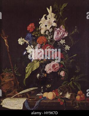 Jan Davidsz De Heem 001 Banque D'Images