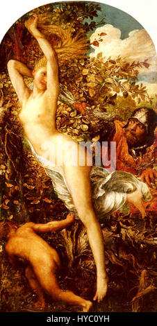 George Frederic Watts Fata Morgana Banque D'Images